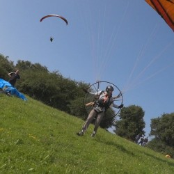 Practice Paramotor license session for Paraglider (club)
