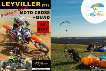 Moto Cross - Day paramotor